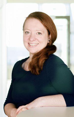 Portrait of Janett Blochmann.
